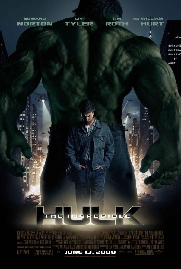 urutan film marvel - 3 - The Incredibles Hulk
