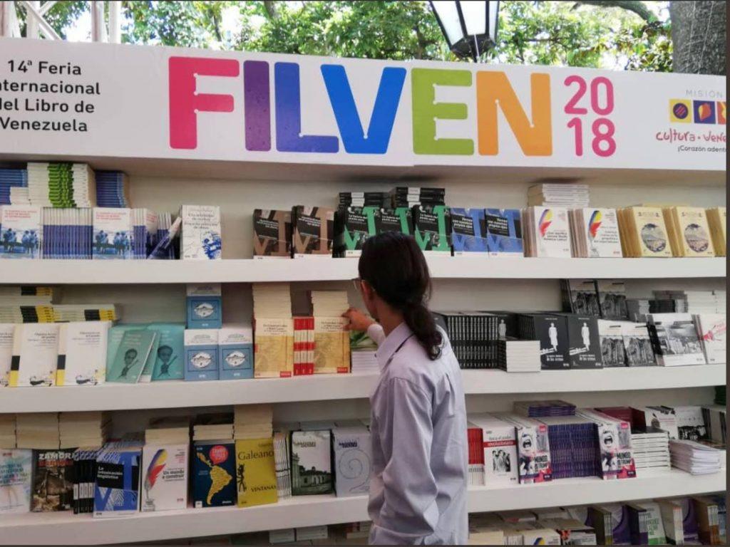 El día que la Niña Heladera participó en la Feria Internacional del Libro de Venezuela