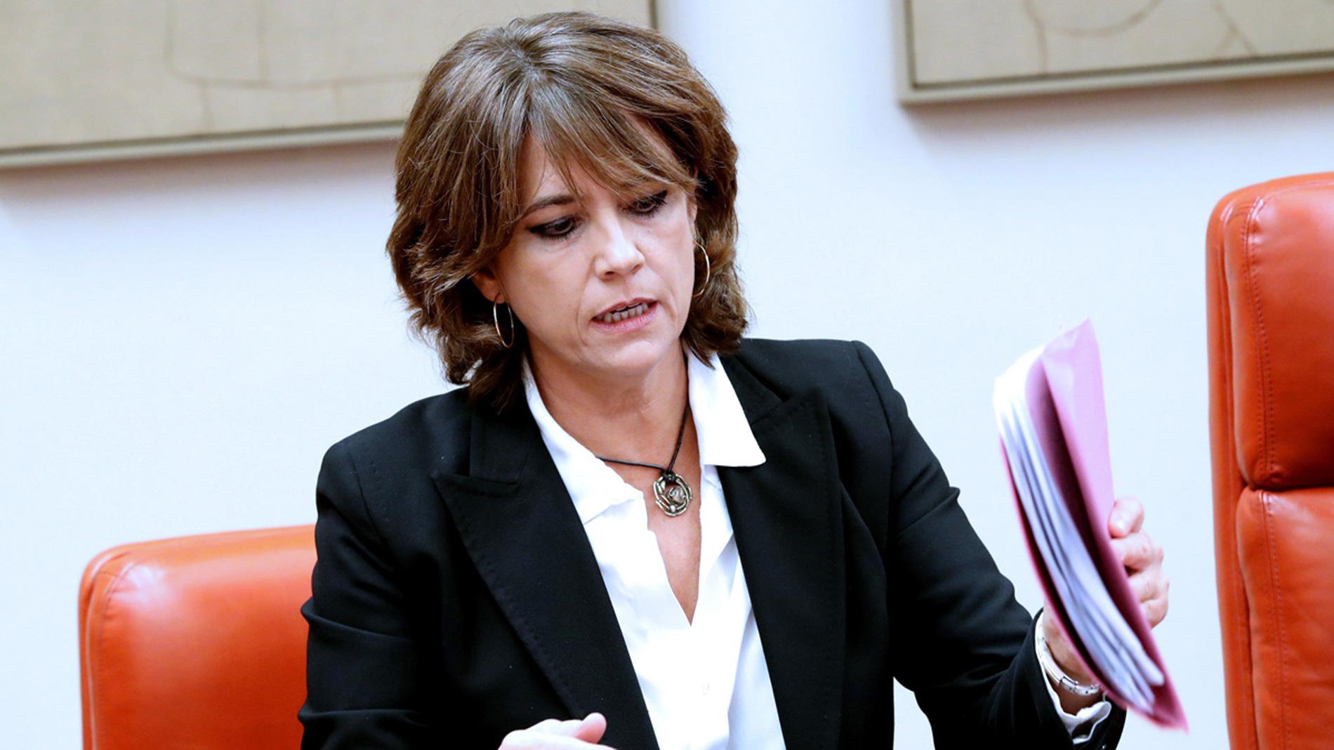 La ministra de Justicia acusa al PP de intentar dar instrucciones políticas a jueces y fiscales por Gürtel