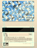VISA Card PSD Template