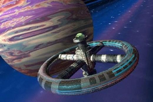 Pesawat antariksa. Pada Peradaban Tipe I, kita mungkin sudah memiliki koloni di beberapa planet