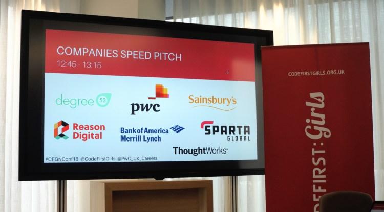 Companies Speed Pitch