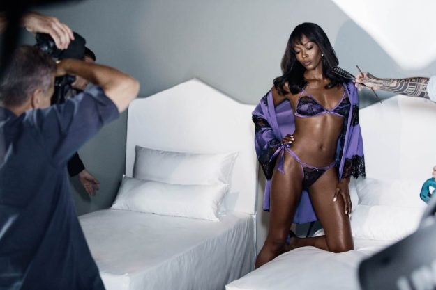 IAMNAOMICAMPBELL by Yamamay, backstage (1)