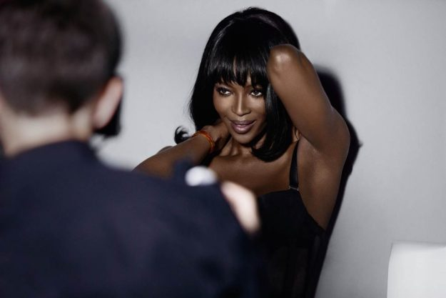 IAMNAOMICAMPBELL by Yamamay, backstage (2)