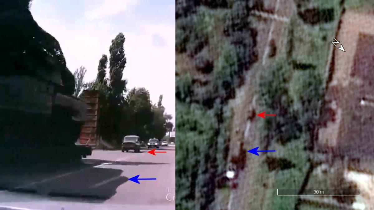 ВBellingcat сообщили оподлинности видео спередвижением установки «Бук»