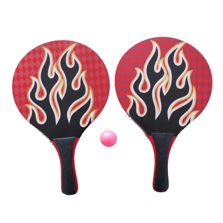Beachball tennisset