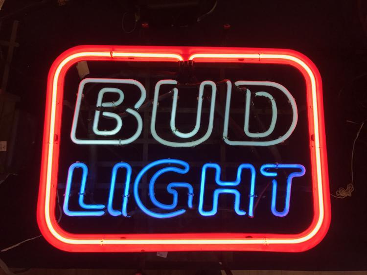 Neon Bud Light Sign