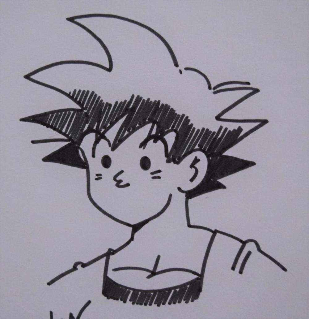 Akira Toriyama Dragon Ball Z Drawing