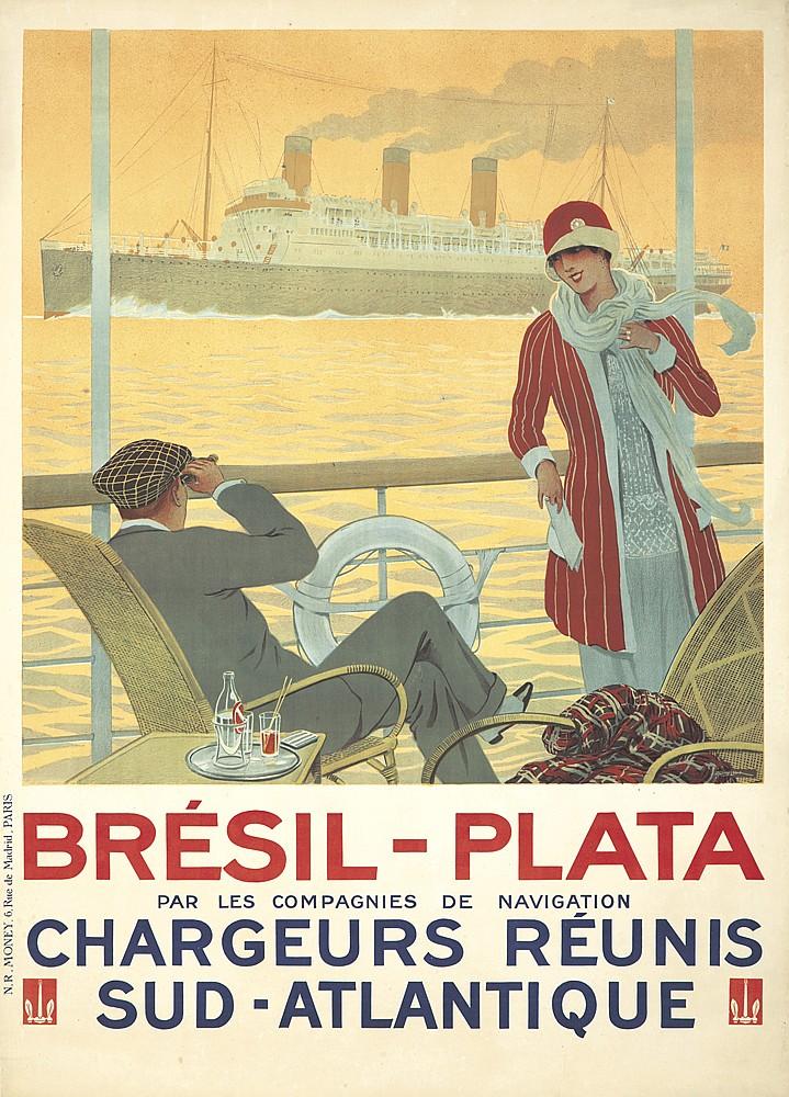 Brésil-Plata.  ca. 1928