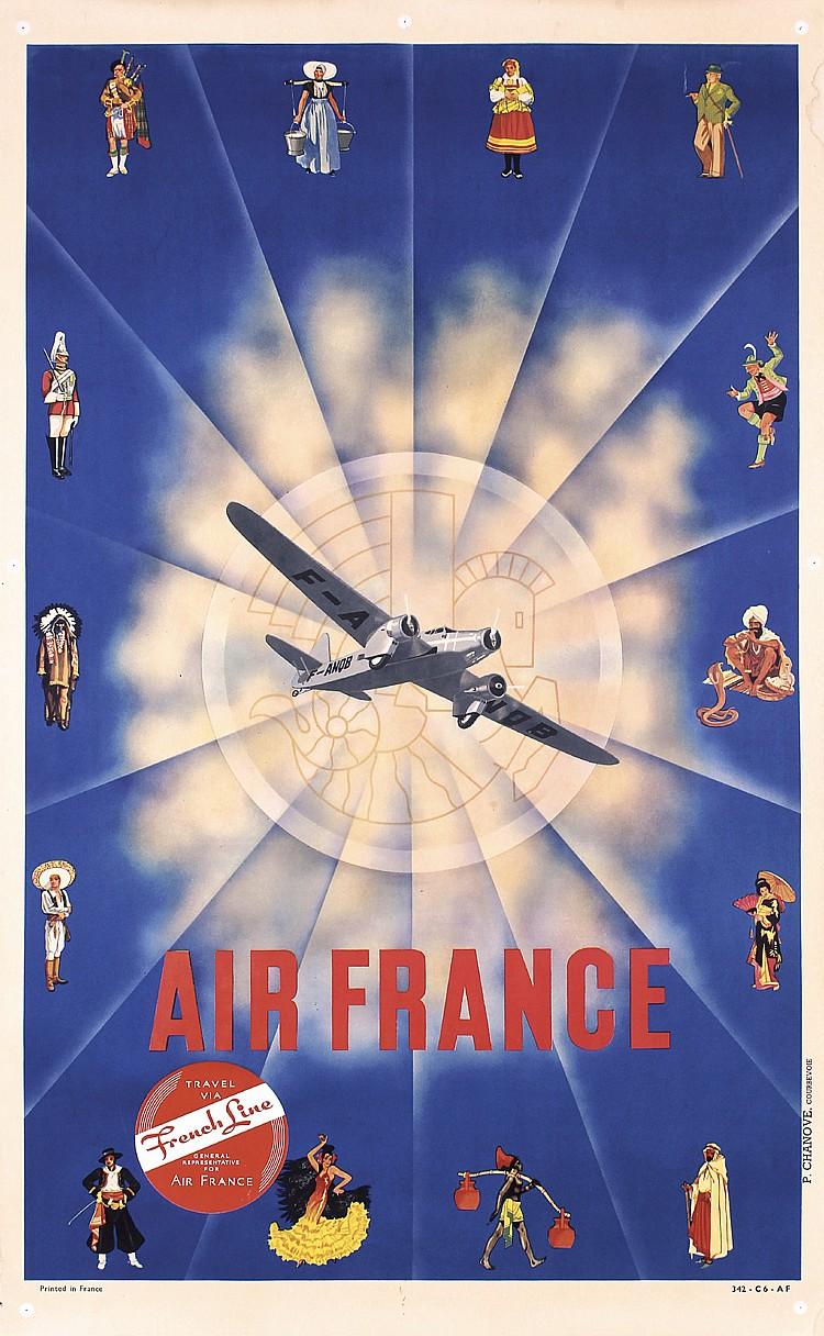 Air France by N. Gerale, 1937