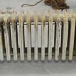 Lot Vintage Cast Iron Heater Radiator