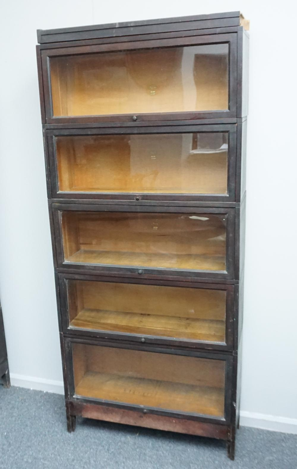Macey 5 Stack Barrister Bookcase