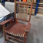 Sold Price Cracker Barrel Rocking Chair Invalid Date Mst