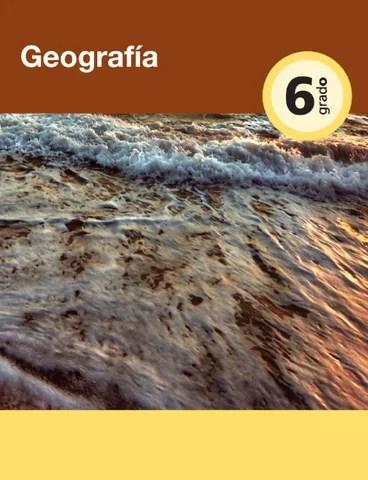 Geografia 6to. Grado