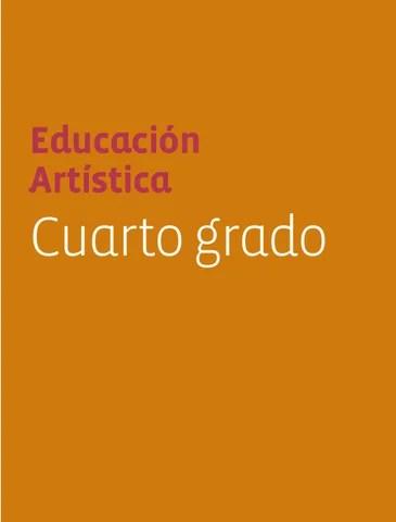 Educacion Artistica 4to. Grado.
