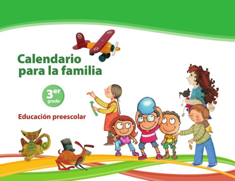 Calendario para la Familia 3er. Grado