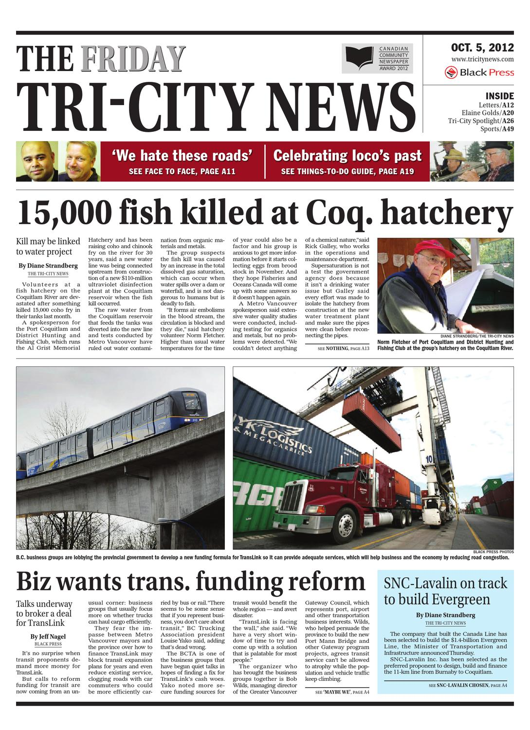 ISSUU The Tri City News October 05 2012 By Black Press
