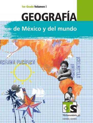 Geografía 1er. Grado Volumen I