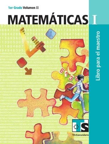 Maestro. Matemáticas 1er. Grado Volumen II