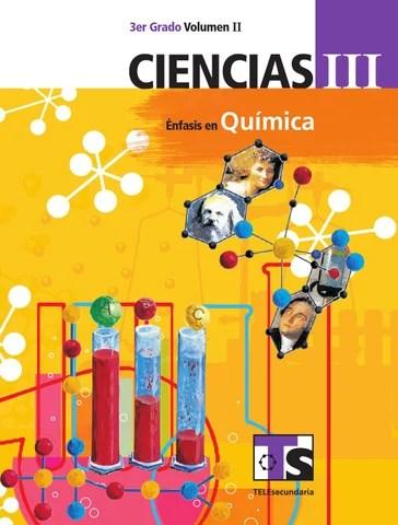 Ciencias 3er. Grado Volumen II