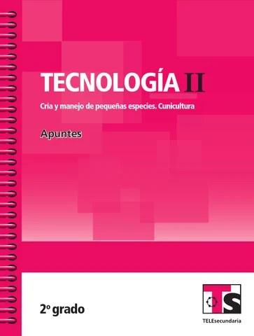Apuntes 2o. Grado Tecnología II. Cunicultura