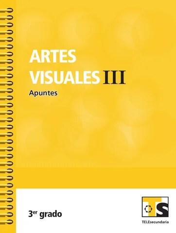 Apuntes 3er. Grado Artes Visuales III