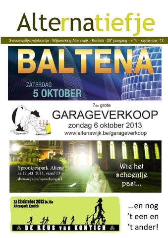 Alternatiefje September 2013