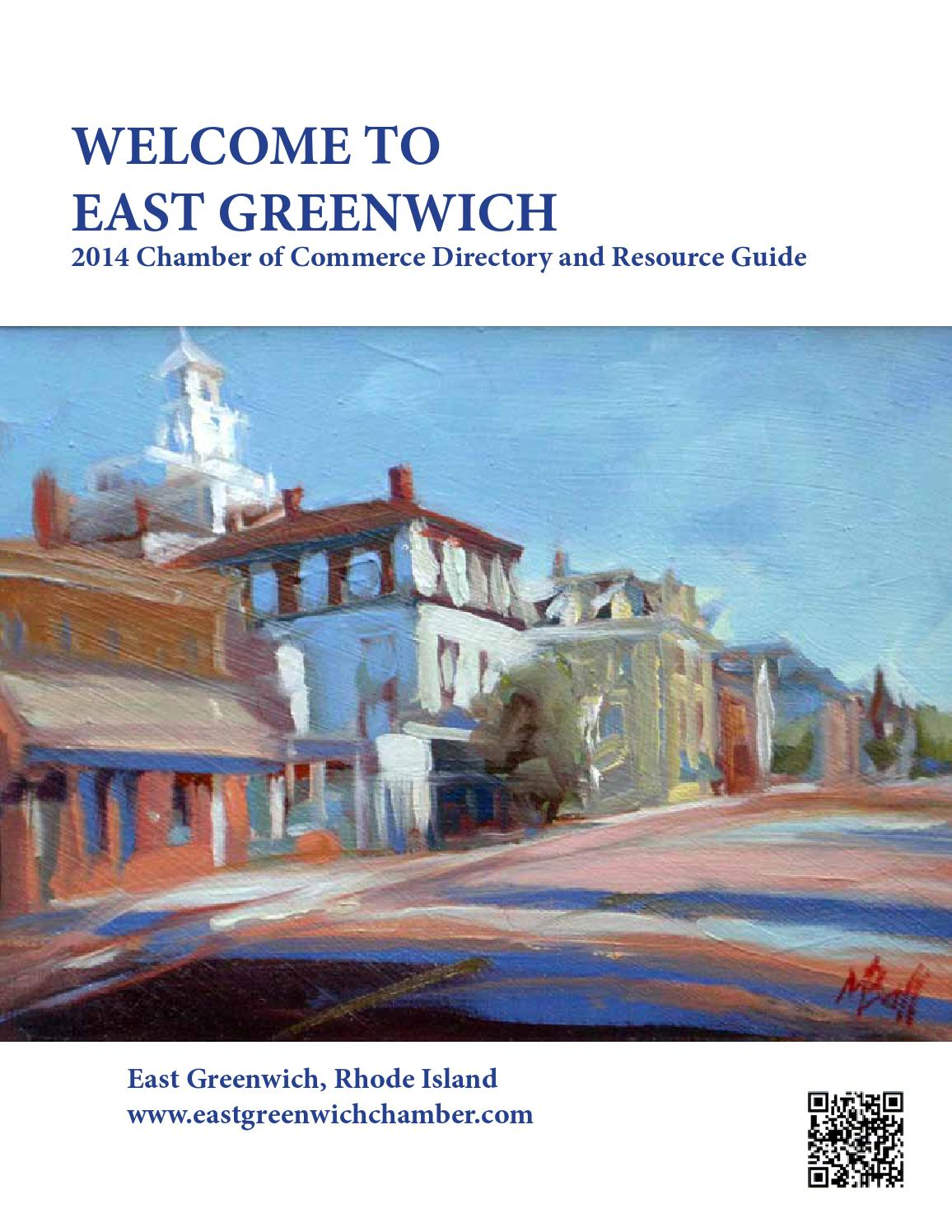 2014 Welcome To East Greenwich By East Greenwich Chamber
