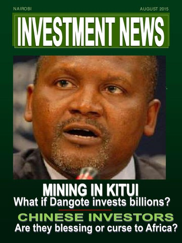 Investment News Magazine - AUG 2015