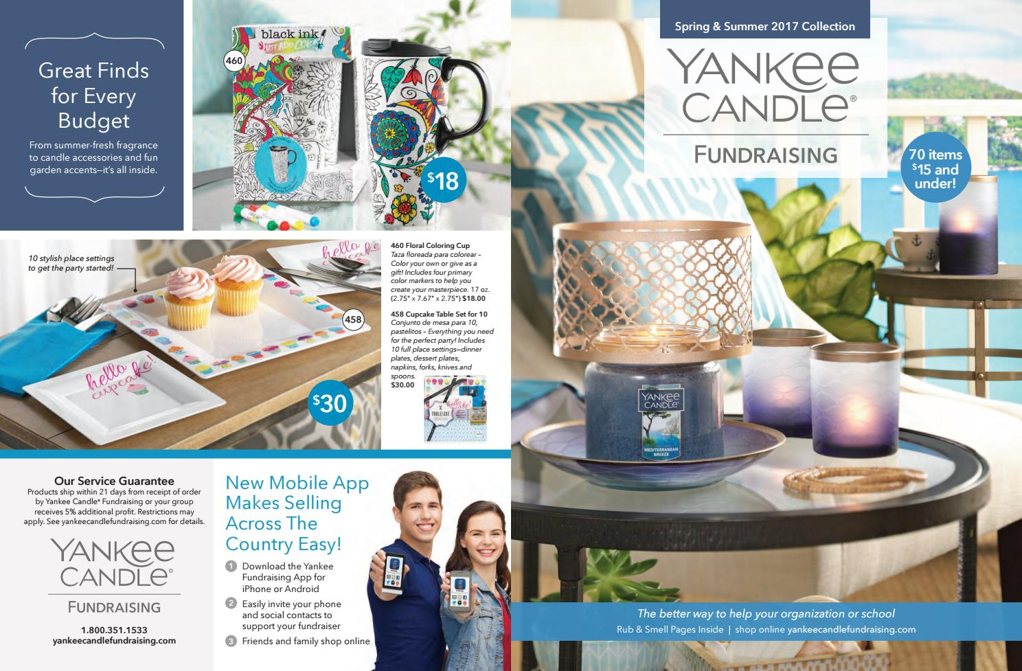 Yankee Candle Spring 2017 Brochure By 1st Place