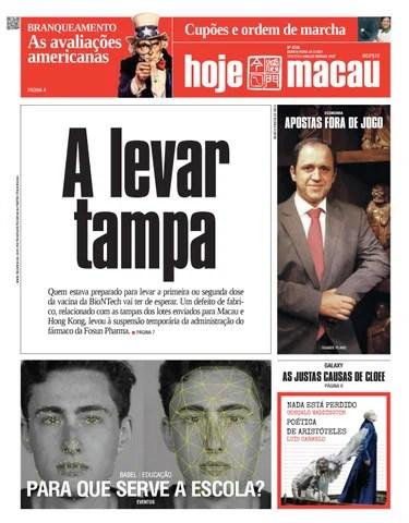 Hoje Macau 25 MAR 2021 #4736