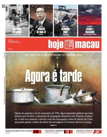 Hoje Macau 31 MAR 2021 #47340