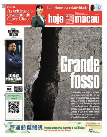 Hoje Macau 16 JULHO 2021 #4811