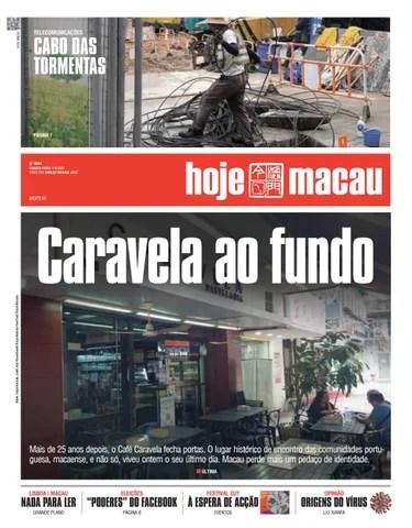Hoje Macau 1 SETEMBRO 2021 #4844