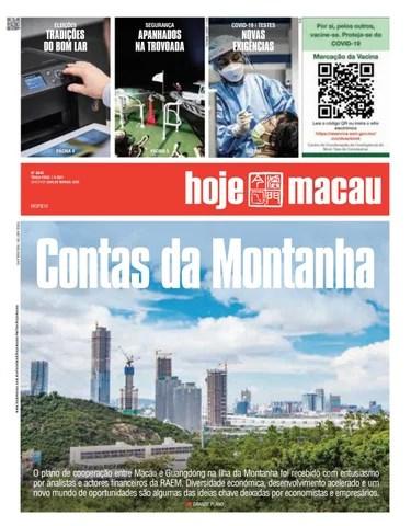 Hoje Macau 7 SETEMBRO 2021 #4848