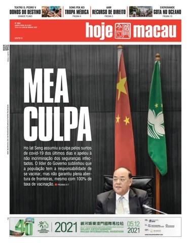 Hoje Macau 30 SETEMBRO 2021 #4863