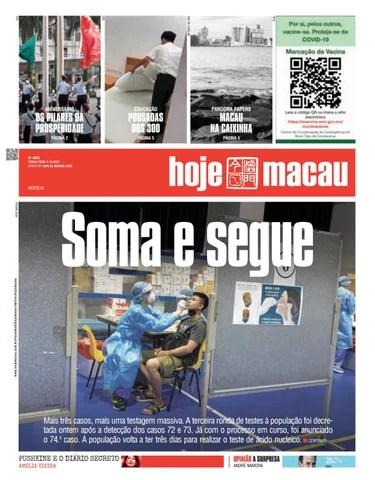 Hoje Macau 05 OUTUBRO 2021 #4864