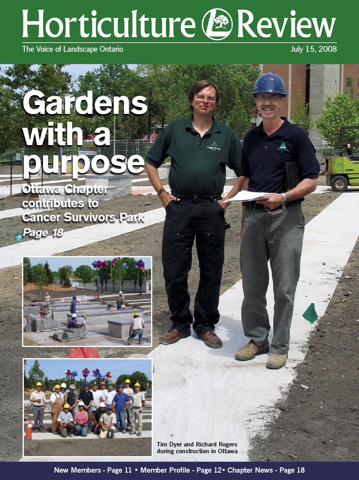 Horticulture Review July 2008 By Landscape Ontario Issuu