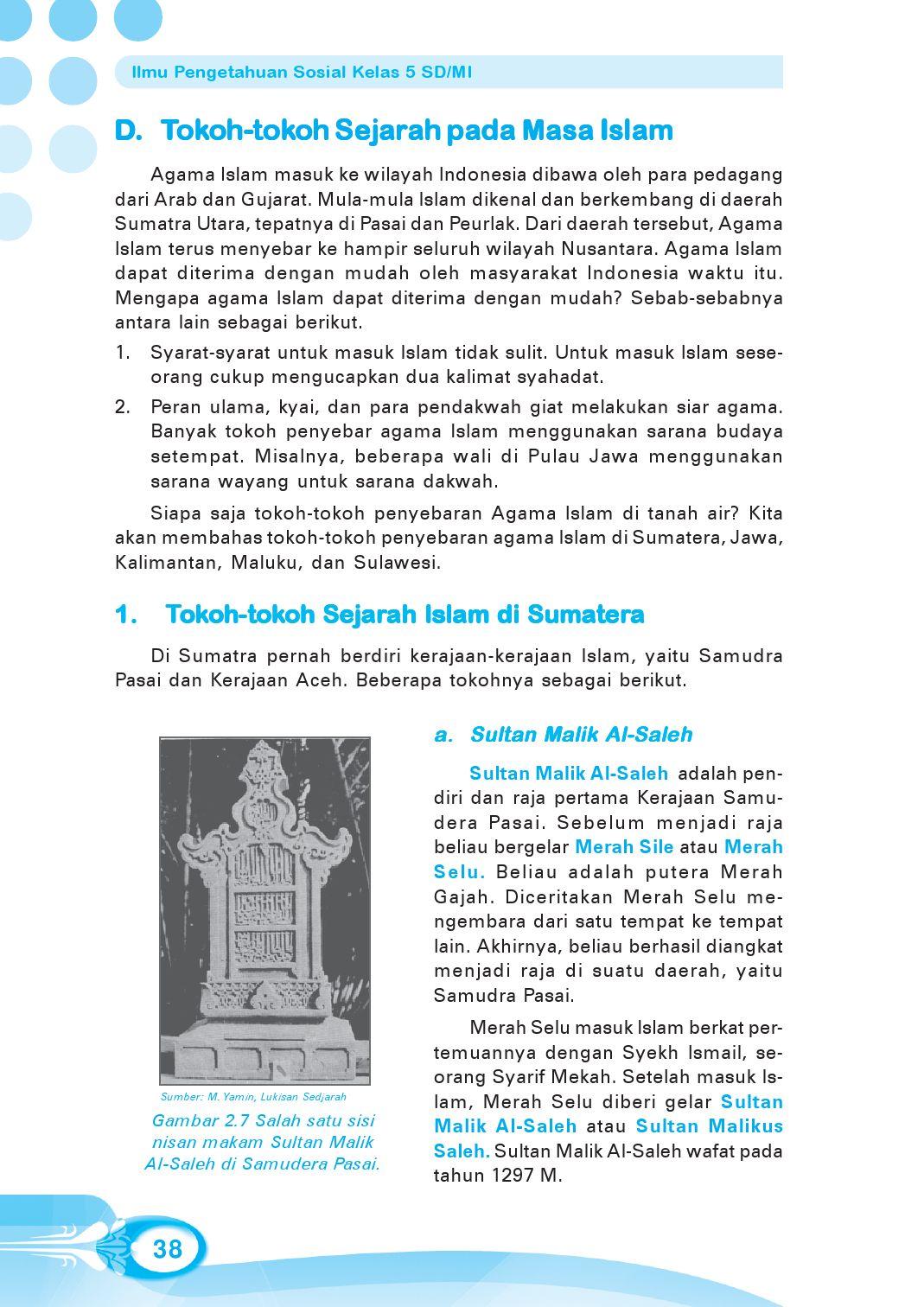 Gambar Tokoh Sejarah Kerajaan Islam