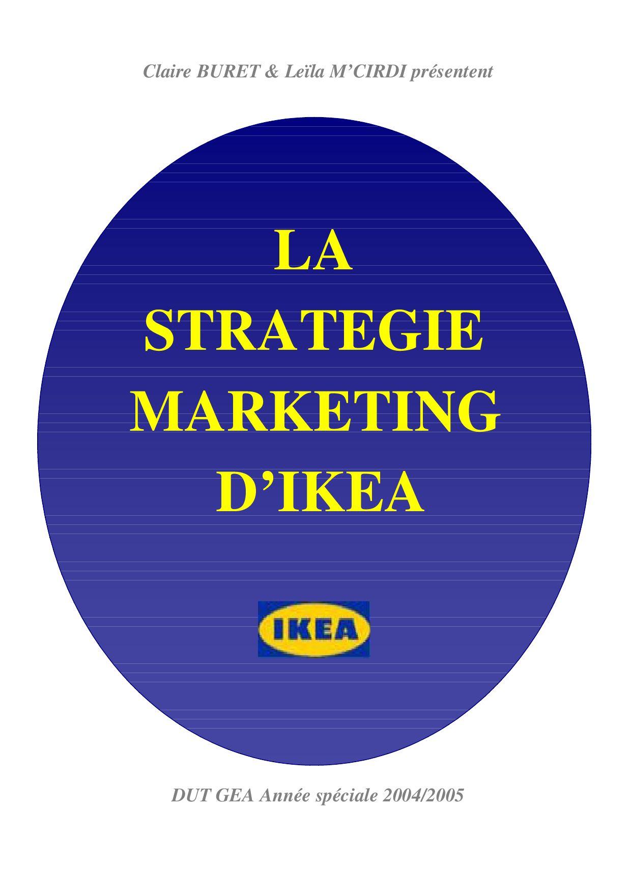 La Strategie Marketing Dikea By Regis Vansnick Issuu