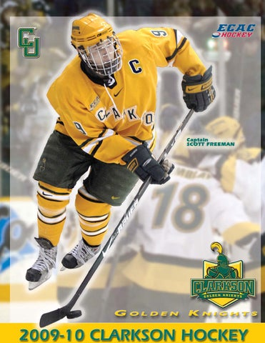 2009 10 Clarkson Men S Hockey Media Guide By Gary Mikel Issuu