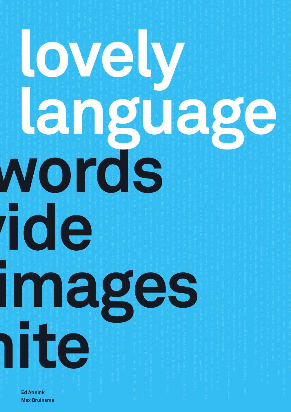 lovely language by ontwerpwerk bv issuu