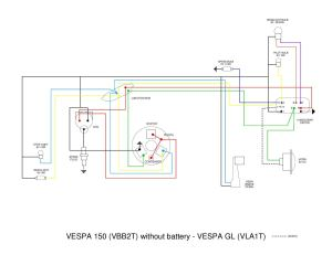 Vespa VB wiring diagram by et3px et3px  Issuu