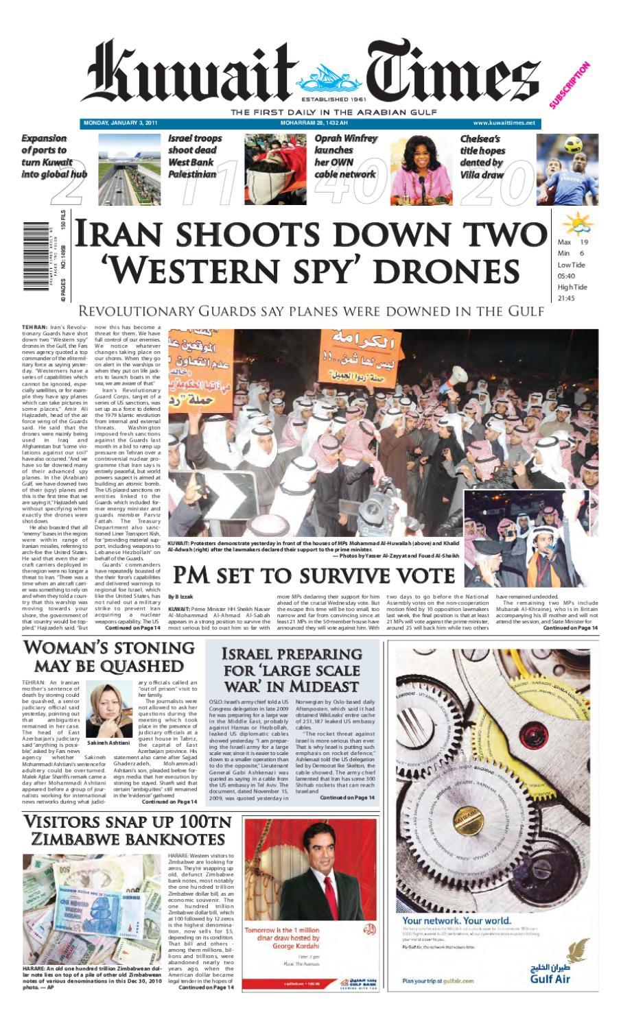 03 Jan By Kuwait Times Issuu