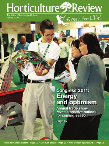 Horticulture Review February 2011 By Landscape Ontario Issuu
