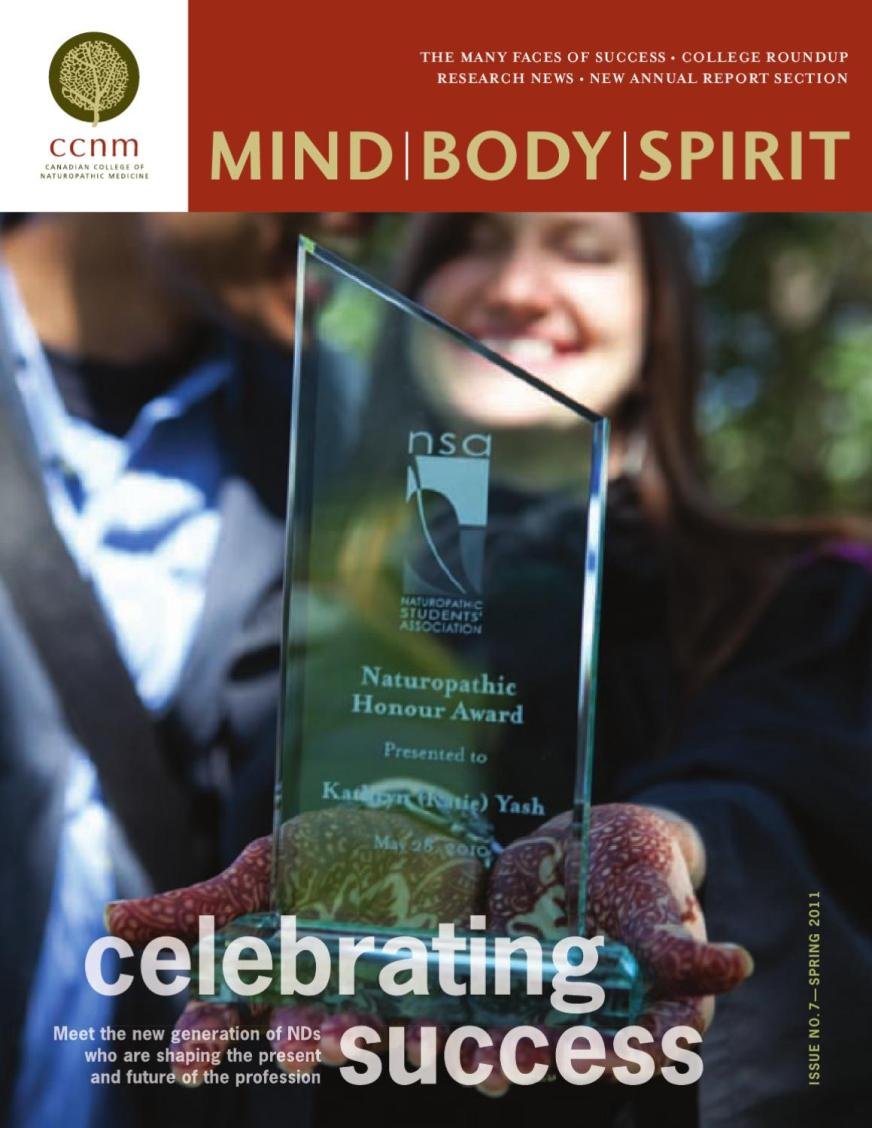 MIND|BODY|SPIRIT 07 by Canadian College of Naturopathic ...