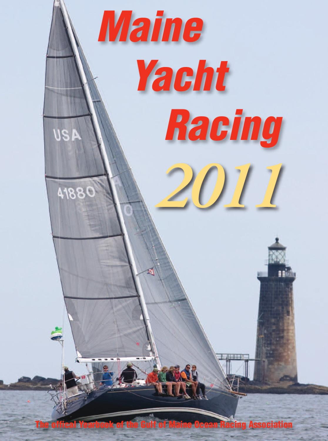 Gulf Of Maine Ocean Racing Association By Points East Issuu