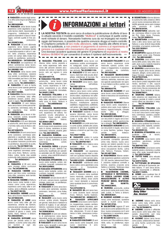 Giornale 1 31 Agosto By Tutto Affari Issuu