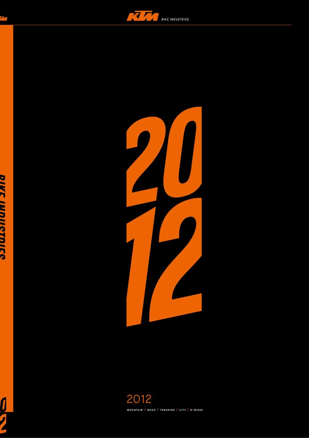 Ktm Catalogue 2012 By Groupe Dejour Issuu