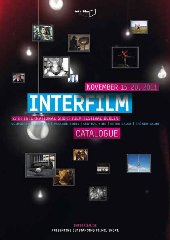 Festival Catalogue Interfilm27 By Interfilm Berlin Issuu